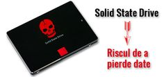 SSD-urile pot pierde datele daca sunt pastrate fara alimentare si in conditii improprii de temperatura.