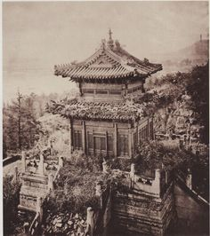 """Precious Cloud Pavilion in Beijing's Summer Palace"", c. 1868, John Thomson"