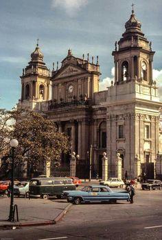 Mi Guatemala de antaño talvez años 70'.