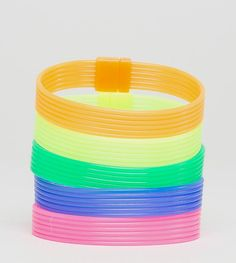 Get this Asos's wristband now! Click for more details. Worldwide shipping. ASOS Neon Rubber Bracelet Pack - Multi: Bracelet by ASOS, Pack of 5, Neon rubber bands, Slip-on design, Stretch fit, 100% Rubber. ASOS menswear shuts down the new season with the latest trends and the coolest products, designed in London and sold across the world. Update your go-to garms with the new shapes and fits from our ASOS design team, from essential tees to on-point outerwear, and jeans from skinny to straight…