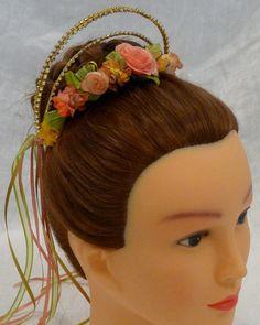 Strass & Seide Blume Kopfbedeckung  komplett anpassbare
