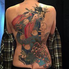Progress ! Thankxxx @aenona_2203  #forgottenhope #tattoo #pforzheim #japanesetattoo #irezumi #irezumitattoo