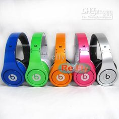 Wholesale - Rose Purple Silver Orange Studio Headphones Drop Shipping Factory Sealed