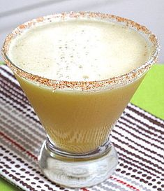 Pineapple Margarita  2 tablespoons coarse salt  1-1/2 teaspoons chili powder  1 cup tequila  1 cup pineapple juice  1/2 cup fresh lime juice  1-1/2 tablespoons agave nectar