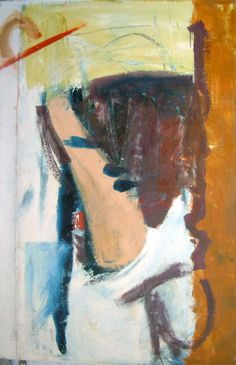 Peter Lanyon, Thaw, 1962 oil on canvas, 72 x 47 1/2 in / 183 x 120.7 cm