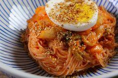 Kimchi Bibim Guksu Recipe & Video - Seonkyoung Longest