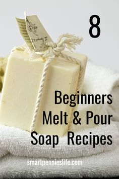 Try making homemade soap at home. It is unbelievable easy and safe if you use Melt and pour soap bases this is THE way to start making soap as a beginner. Here are 8 amazing Melt and Pour soap recipes to try today. Homemade Soap Bars, Homemade Soap Recipes, Soap Melt And Pour, Soap Cake, Soap Making Recipes, Home Made Soap, Soapstone Countertops, Soap Carving, Lavander
