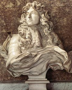 Bernini's sculpture of Louis XIV, known as The Sun King.