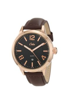 Odin Precision Quartz Rose Gold Tone Watch