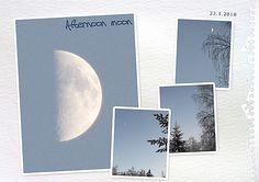 Afternoon moon by Eijaite.deviantart.com on @DeviantArt
