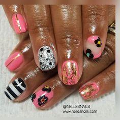 "565 Likes, 11 Comments - Get Some Nelle-zazz in Yo Life (@nellesnails) on Instagram: ""Hey nails!! 😊 #nailclub #naillady #naturalnails #gelpolishmanicure #showmethemani #naillife…"""
