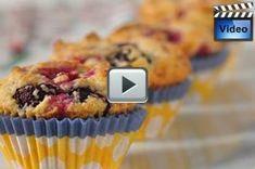 Buttermilk Berry Muffins - Joyofbaking.com