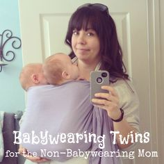 Babywearing Twins for the Non-Babywearing Mom | Baby Gizmo Company