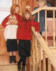 Fernand Khnopff, The Children of Monsieur Nève, 1893