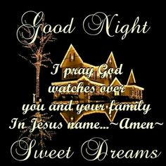 65 Best Good Night God Bless images in 2018 | Good night