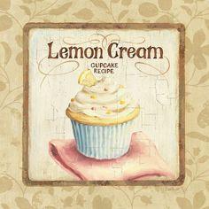 Lemon Cream Cupcake, Lisa Audit