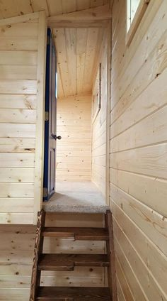 Bedroom Over Gooseneck - Big Chill by Alpine Tiny Homes
