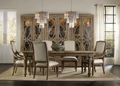 The Solana Collection from Hooker Furniture exudes a livable resort feeling.