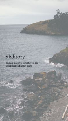 Noun abditory (plural abditories) (rare) A concealed location used for storage or to hide items. Unusual Words, Weird Words, Rare Words, Unique Words, Cool Words, Fancy Words, Big Words, Deep Words, Pretty Words