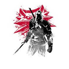 The #Witcher: #Geralt of Rivia t-shirt.