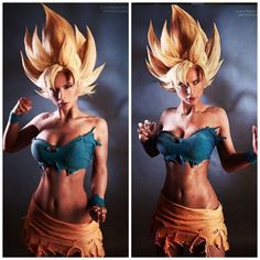 This rule 63 Goku cosplay by Jannetincosplay is nothing short of spectacular!