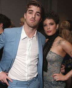 Halsey with Drew Taggart at the BBMA