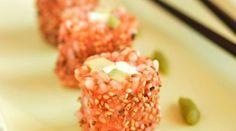 Maki végétarien {Tomate-Avocat-Fromage}
