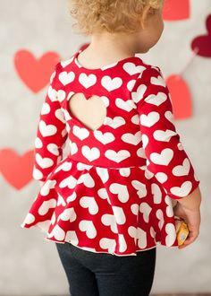 Red And White Dress, Dress Red, Valentine's Day Outfit, Outfit Of The Day, Toddler Dress, Baby Dress, Sewing Baby Clothes, Valentines Outfits, Little Valentine