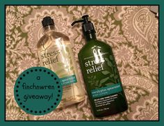 """Enter to win this Bath & Body  Works """"Stress Relief"""" set from @finchnwren...just in time to fight that end-of-the-school-year stress! Ends 5/23/18."""