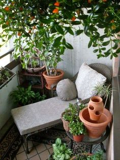 Lie under a tree and read a book. ~ETS #balconies