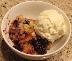 Mulberry Cobbler via Kentucky Forager Cantaloupe Recipes, Radish Recipes, Frangipane Recipes, Mulberry Recipes, Spagetti Recipe, Szechuan Recipes, Thermomix
