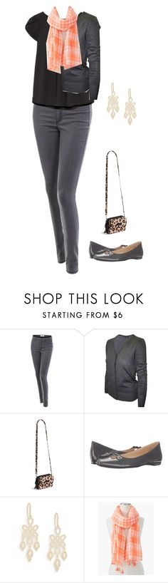 """""""C1d3"""" by pearse ❤ liked on Polyvore featuring LE3NO, 2LUV, Vera Bradley, Nine West, Freida Rothman and Talbots"""