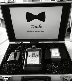 How I asked my best friend to be my best man!