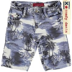 Blue Rebel Carpenter slim fit Honolulu