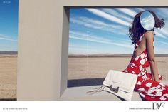 Diane von Furstenberg Spring 2012 Ad Campaign: photographed by Camilla Akrans