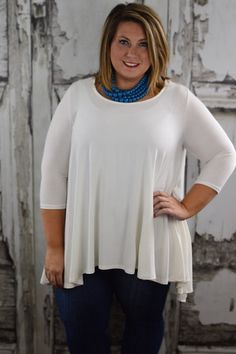 Ivory Flare Top – The ZigZag Stripe use coupon code ZZS820 at checkout for 10% off and free shipping! #affordable #fashion #boutique