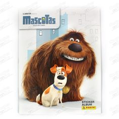 ALBUM MASCOTAS PETS MOVIE