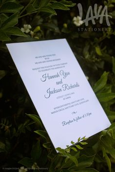 #letterpress wedding invitations by www.lavastationery.com.au