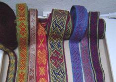 Brikvaevning Home  tablet weaving  danish