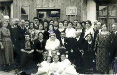 1923 jewish shtetl wedding.
