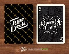 A mock up of the Backs and a Queen card - The Queen of Clubs.