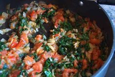 Brown Rice With Tomatoes & Kale 5