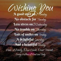 Wishes for the week