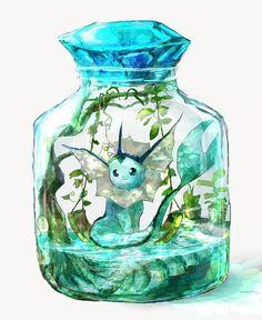 Pokémon Files - Burn Book - Eevee is a kind of Pokémon on Nintendo and the Game Freak Pokémon franchise. Created by Ken Sugim - Gif Pokemon, Pokemon Eevee Evolutions, Pokemon Tattoo, Pokemon Funny, Pokemon Fan Art, Cute Animal Drawings, Kawaii Drawings, Cute Drawings, Pokemon Fusion