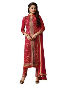 The product includes semi stitched Salwar Kameez / Suit only. New Designer Salwar Suit Collection. We are one of the leading traders and exporters of all types of Indian clothing's from India, We are into the clothing's trade since last 8 years. | eBay!