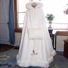 Wedding Coat, Wedding Jacket, Elegant Wedding Dress, Wedding Bolero, Older Bride Dresses, Winter Fur Coats, Bridal Cape, Faux Fur Jacket, Ivoire