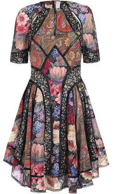 Pretty dress in silk & cotton IF you wear size 10 or under & can afford to spend $700 on a single dress. Zimmermann Trinity Artisan Dress