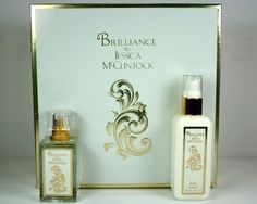 Brilliance By Jessica Mcclintock Set for Women, 1.7 Oz Eau De Parfum + 4 Oz Body Lotion by Jessica McClintock by Jessica Mcclintock. $33.99. Womens Gift Set. 815 % Authentic. Fast Shipping. Brilliance by Jessica McClintock was launched in 2010. The top notes of this fragrances are lilac blooms, bergamot, crisp greens, sandalwood, and jasmine sambac.  Brilliance by Jessica McClintock Gift Set contains:   1.7 oz Eau De Parfum Spray  4.0 oz Body Lotion