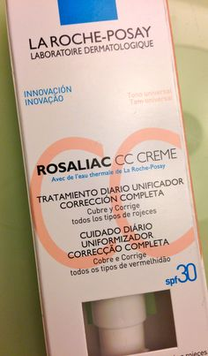 La Roche-Posay Rosaliac CC Cream ⋆ My Beauty Prescription Rosacea Symptoms, Rosacea Remedies, Cc Creme, Roche Posay, How To Get Rid Of Acne, Tips Belleza, Belleza Natural, Skin Cream, Beauty Tips