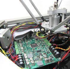 Alligator Board is a next-gen, ARM-based 3D printer controller. #Atmel #AlligatorBoard #ARM #3DPrinting #Indiegogo